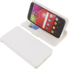 Funda para Lenovo / Motorola Moto E4 Book Style Protectora de Móvil Blanco