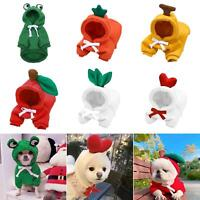 French Bulldog Cute Warm Winter Puppy Accessory Pet Hoodie Costume Dog Clothes