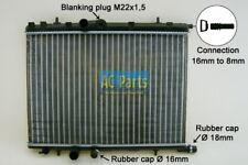 Motorkühler Kühler PEUGEOT 307 CC (3B) 1.4 1.6 2.0