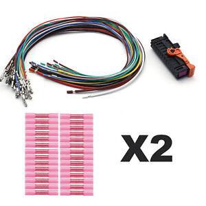 28 Fils Electrique + Connectique de Porte 1K5971120BB 1K5971120BK 1K5971120BL