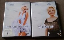 The Seven Year Itch and Bus Stop DVD Marilyn Monroe Diamond Collection BRAND NEW