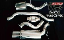 "4"" STAINLESS TURBOBACK CATBACK EXHAUST FOR FORD FALCON FG XR6 TURBO 4.0L SEDAN"