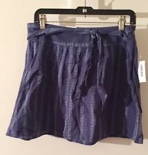 New Old Navy Skirt, 100% Cotton, Blue, Size 6