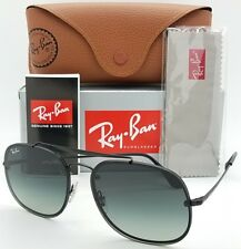 NEW Rayban Blaze General sunglasses RB3583N 153/11 58 Black Grey AUTHENTIC 3583