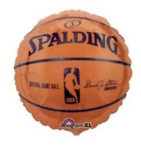 "Spalding Basketball 18"" Anagram Balloon Birthday Party Decorations"