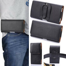 PU Leather Belt Clip Loop Hip Waist Holder Case Cover For OPPO Vivo Pouch Bag