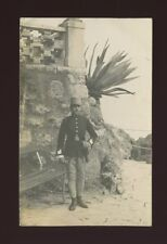Austro-Hungary Croatia Abbazia? Opatija Soldier Police Soldier Used 1912 RP PPC
