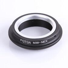 Leica M39 to Sony NEX e-Mount Adapter Ring f a6000 a7 NEX5T NEX3N NEX6 NEX-EA50