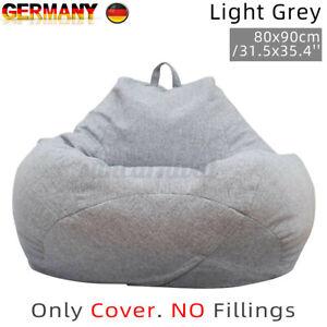 Ersetzen Mantel Sitzsack Sitzbag Kinder Sessel Stuhl Säcke Sofa Cover No Filling
