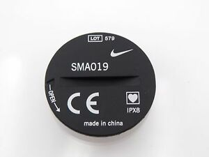 Two (2) Nike SMA019 Triax Heart Rate Monitor Battery Cover Part