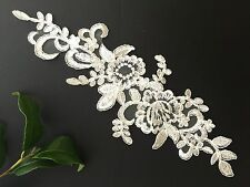 Bridal Lace(motif) Flower    off white