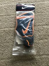 New! Vtg 90's Nike Sport Unisex Field Shin Guards Blue/Orange Size Large