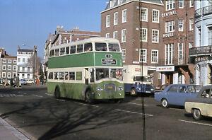 Original Bus Slide  SOUTHDOWN Titan PD3/4 N/Counties #425 BUF425C  Brighton 1967