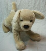 "Douglas CUTE SOFT TAN YELLOW LAB PUPPY DOG 13"" Plush STUFFED ANIMAL Toy"
