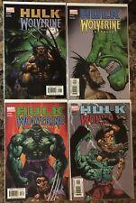 Hulk Wolverine Six Hours #1-4 Complete Run Series
