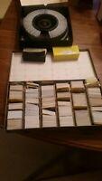 """Lot of 825 Vintage 35MMFilm Slides. 2""""x2"""". Hilton Head, Texas, Europe, Tennessee"""