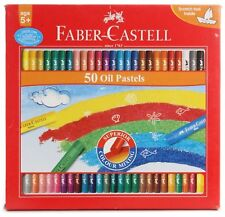 Faber-castell Oil Pastels - (Set of 50)-Free Shipping !!