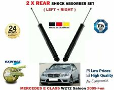 FOR MERCEDES E CLASS W212 Berlina 2009->on 2X REAR LEFT RIGHT SHOCK ABSORBERS