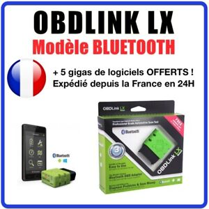 Scantool OBDLink LX Bluetooth : Interface sans fil compatible Android,