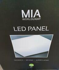 5St. MIA LED Panel 62x62cm 40W Ultraslim Deckenleuchte für Rasterdecke 4000LM