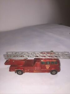 Matchbox Superkings K-15 Merryweather Fire Engine