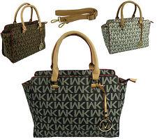 Markenlose Damentaschen mit zwei Trägern und Innentasche (n)