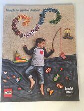 LEGO Preschool 2016 DUPLO & Juniors CATALOG Magazine + Promotional Items