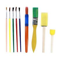 DIY Art Paint Brushes Sponge Painting Brush Tool Set for Children Kids Toy Jian