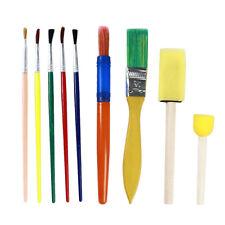Kids Paint Brushes Sponge Painting Brush Tool Set for Children Toddler Toy CB