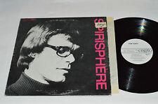 YVON HUBERT Spirisphere LP Les Disques Cogito CG-102 Vinyl Canada Religious VG