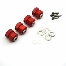 12mm Hex Wheel Lock Hubs For Wraith 90048 RR10 1/10 RC Crawler 13mm Thickness