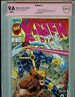 X-Men #1 C CBCS 7.5 w check   BGS Verified Stan Lee Signature Red Label Marvel
