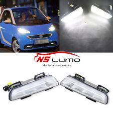 For Smart Fortwo 13-15 LED DRL Daytime Running Light White Fog Lamp Direct Fit