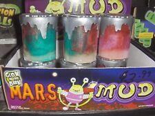 2 NEW Mars Mud  Glow in the Dark Putty SLIME Joke Novelty prank BIRTHDAY FAVORS