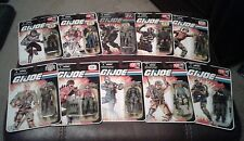 G.I. Joe - 25th Anniversary Lot - 10 Figures MOC - New / Sealed - Hasbro Firefly