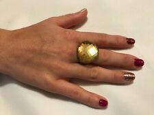 Stunning Chunky Glass Statement Ring Size O (17mm)