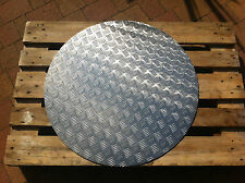 ALU Riffelblech Ronde 5/6,5mm Ronden 800 - 1150mm / Schachtabdeckung