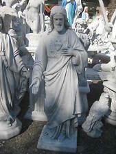 Jesus Christus Steinfigur massiv 110 cm  Heiligenfigur Grab Garten Figur Neu