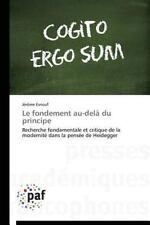Le Fondement Au-Dela du Principe by Esnouf Jerome (2014, Paperback)