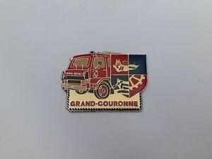 pins camion berliet pompier sapeurs pompiers grand-couronne