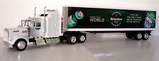 KENWORTH W900 Semi Tractor/Trailer Trucks Diecast 1:43 Heineken Graphics
