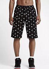 Nike Air Jordan Retro 1 Black Flamingo Shorts  (659377 010) $65 Size 30