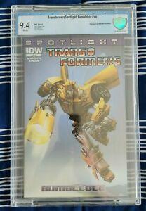 Transformers Spotlight: Bumblebee RI (IDW 2013) CBCS 9.4 NM, Crain variant