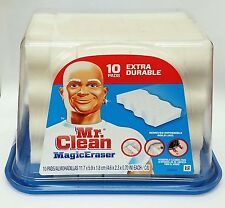 Mr. Clean Magic Erasers Extra Durable Household Cleaning Pads 10 Count