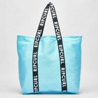 Rip Curl STANDARD TOTE ESS BAG Women's Shoulder Beach Hand Bag New - LSBJK1 Aqua