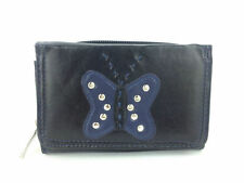 Fabretti Women's Trifold Purses & Wallets with Photo Holder