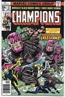 The Champions #17 1977 VF+ Marvel Comics FREE BAG/BOARD