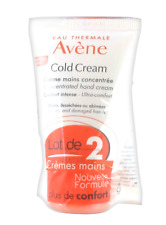 Avene Cold Cream Concentrated Hand Cream by Eau Thermale Avene, 2 x 50 Ml New