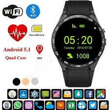 3G SIM Wifi Smart watch phone fashion design sports Healthy phone Mate