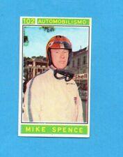 CAMPIONI dello SPORT 1967/68-Figurina n.102- SPENCE -AUTOMOBILISMO-Recuperata